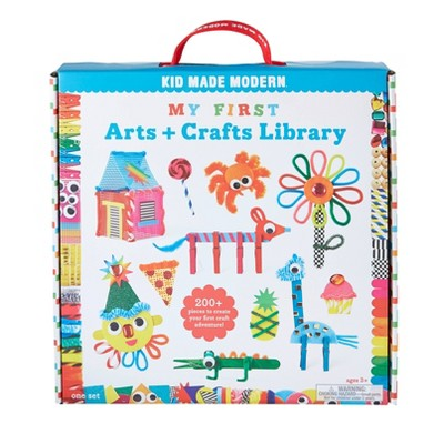 Kid Made Modern 200pc My First Arts and Crafts Library
