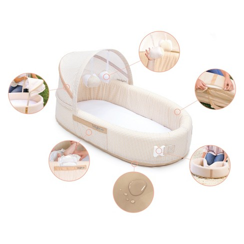 Lulyboo Portable Baby Bassinet To-Go Infant Co-Sleeper. Shop all Lulyboo.  Play Lulyboo Bassinet to-go - video 1 of 1. + 8 more 10cb888ef