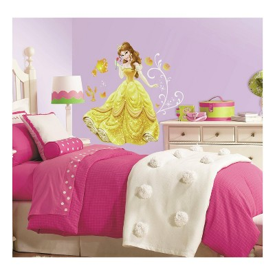 Disney Princess Belle Peel and Stick Giant Wall Decal - RoomMates