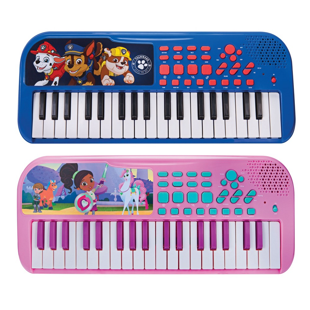 First Act Discovery Keyboard - Mixed Licensed Assortment Loaded with songs, sounds and rhythms! Play with 37 keys, tons of key sounds, rhythms and demo songs. Plus, record and playback feature for writing songs! Gender: Unisex.