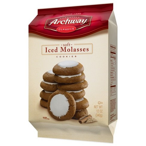 Archway Iced Molasses Cookies 12oz