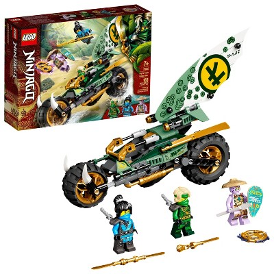 LEGO NINJAGO Lloyd's Jungle Chopper Bike Building Toy 71745