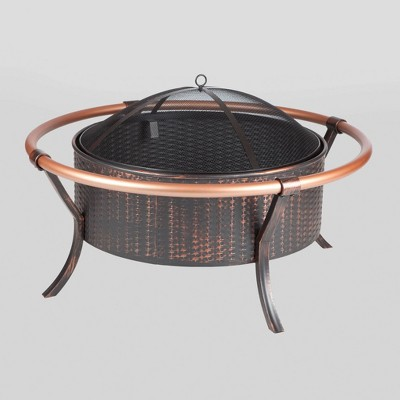 Copper Rail Fire Pit - Fire Sense