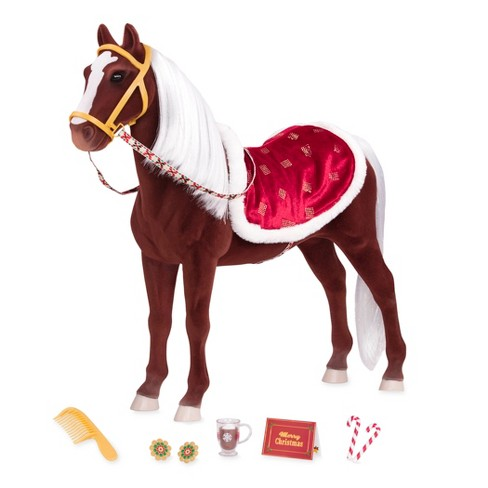"""Our Generation Winter Wonder Holiday Horse for 18"""" Dolls - image 1 of 4"""
