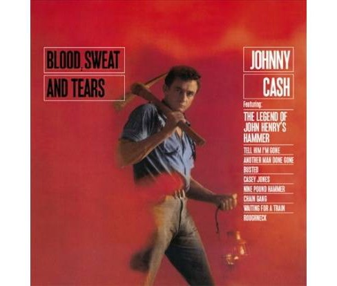 Johnny Cash - Blood Sweat And Tears (Vinyl) - image 1 of 1
