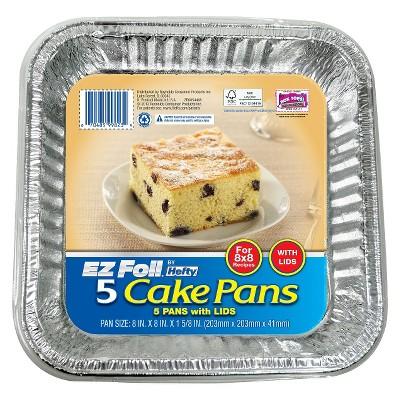 Hefty EZ Foil Cake Pans - 5ct