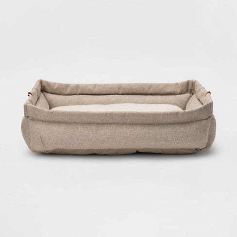 Rectangular Roll Cuff Dog Beds - Boots & Barkley™ - image 1 of 3
