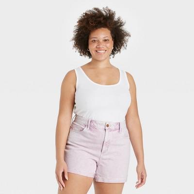 Women's Slim Fit Rib Racerback Tank Top - Universal Thread™