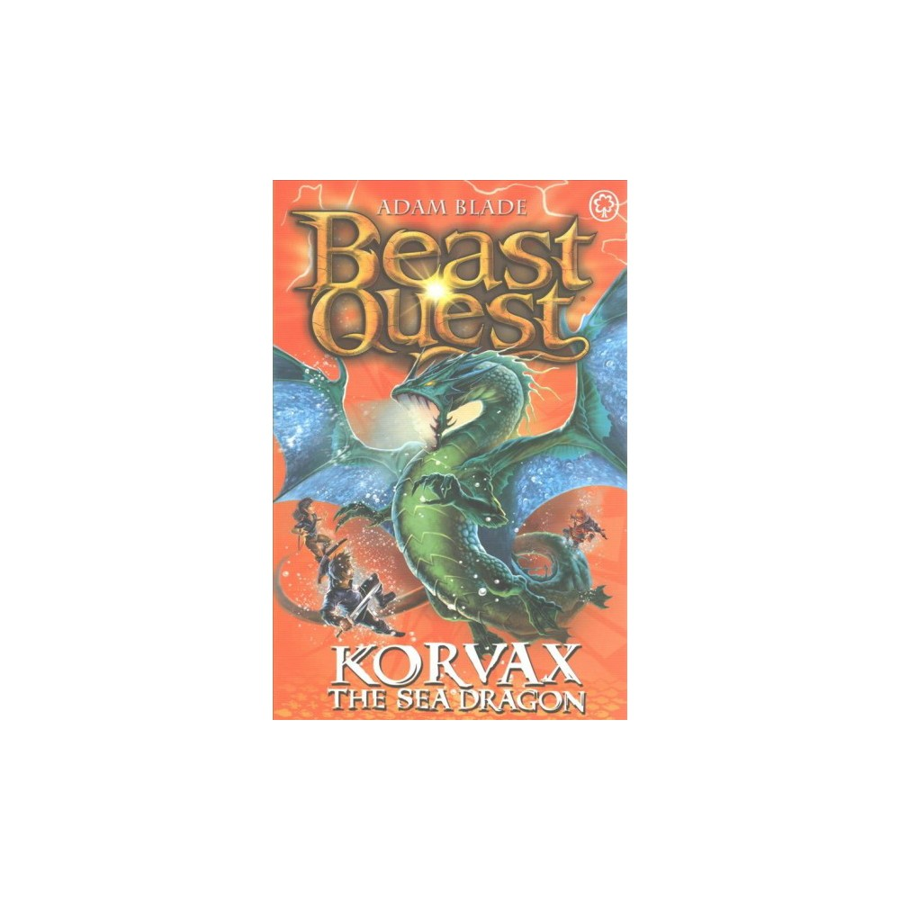 Korvax the Sea Dragon (Paperback) (Adam Blade)