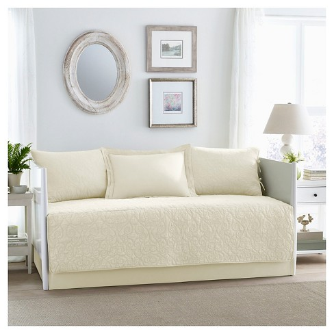 Felicity 5 Piece Daybed Set Daybed - Ivory - Laura Ashley® - image 1 of 1