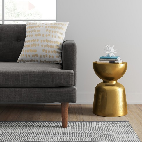 Ophdahl Hourglass Accent Table Brass - Project 62™ : Target