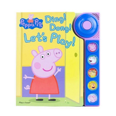 Peppa Pig - Ding! Dong! Let's Play! Doorbell Sound Book (Board Book)