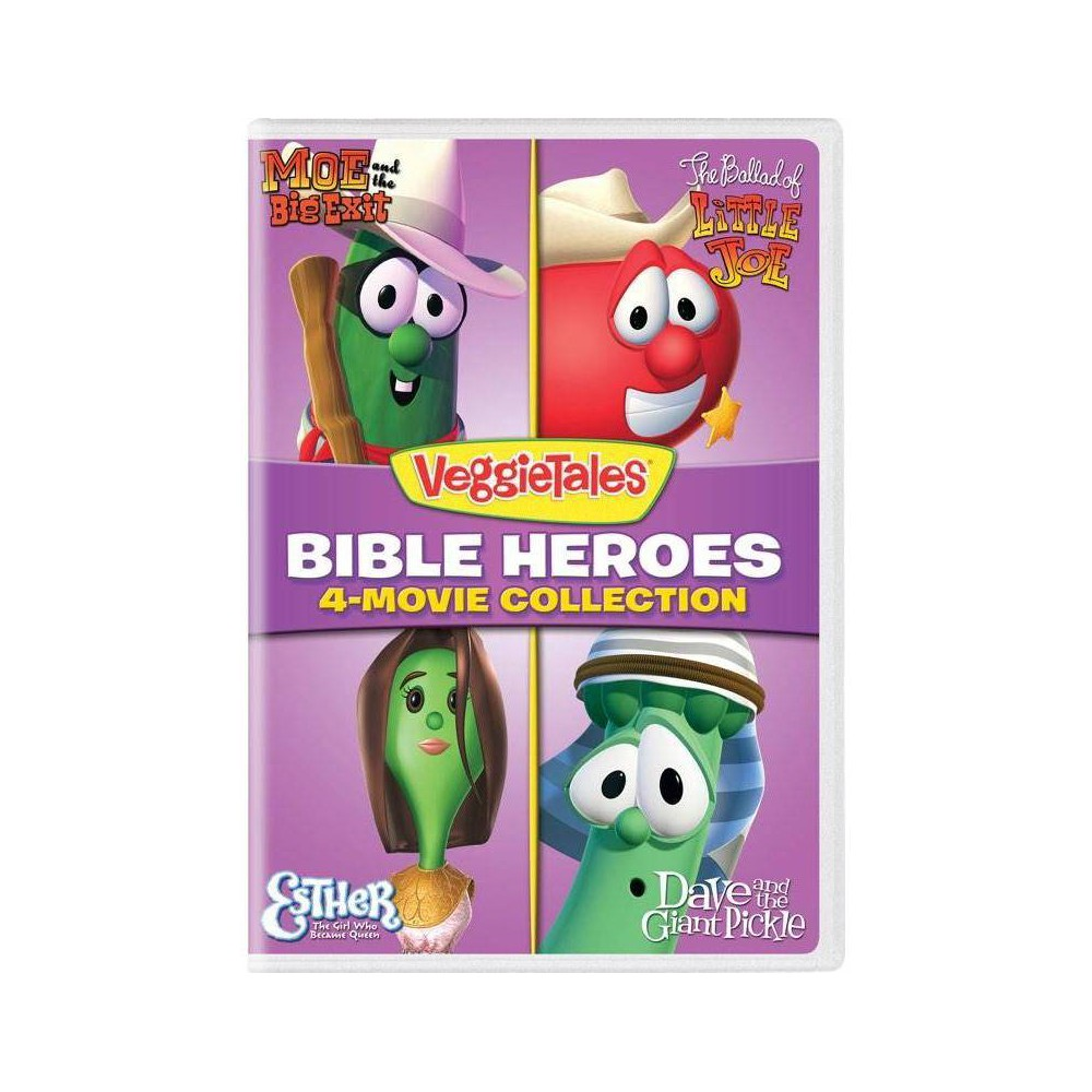 Veggie Tales Bible Heroes 4 Movie Collection Dvd 2018