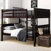 Full over Full Dolan Bunk Bed with USB Port Espresso - Dorel Living - image 3 of 4