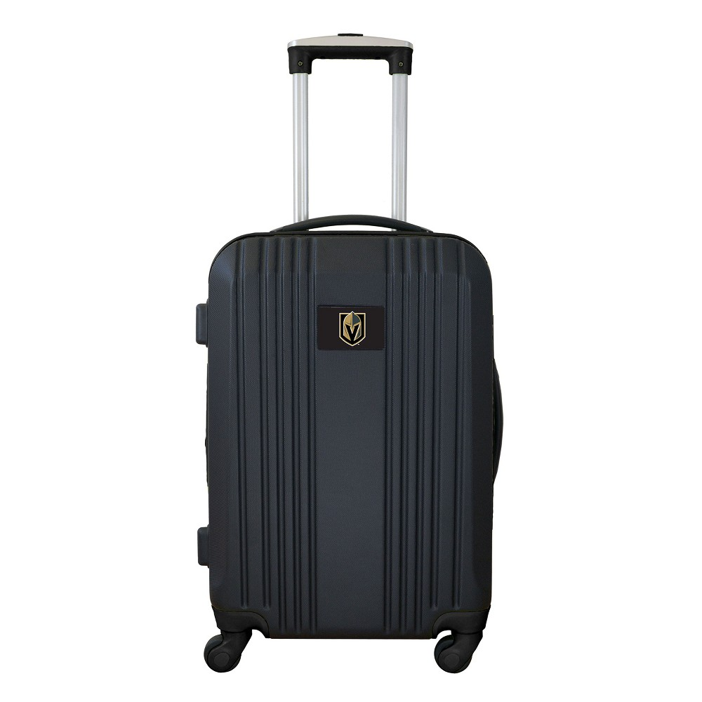 NHL Vegas Golden Knights 21 Hardcase Two-Tone Spinner Carry On Suitcase