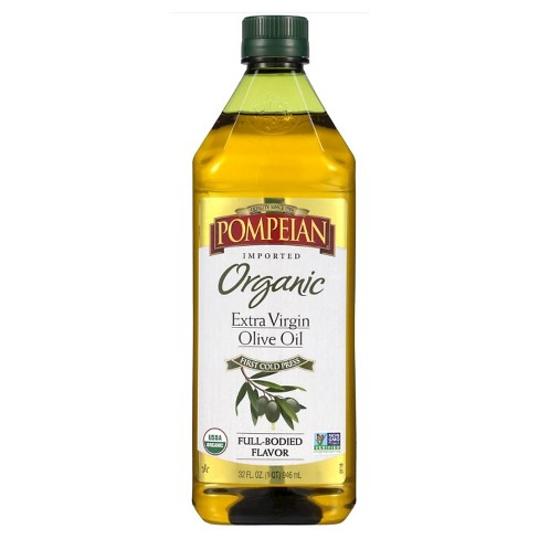 Pompeian® Full Bodied Flavor Extra Virgin Organic Olive Oil - 32oz - image 1 of 1