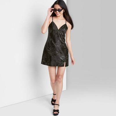 Women's Jacquard Slip Dress - Wild Fable™
