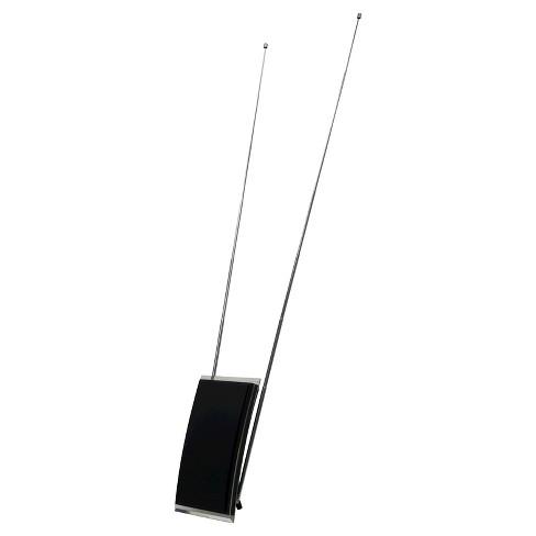 ge pro crystal hd indoor amplified antenna black target