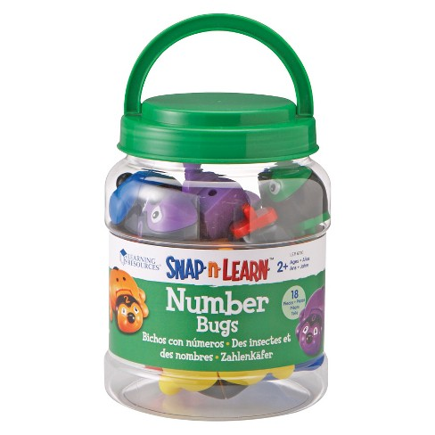 Learning Resources Snap-N-Learn Number Bugs - image 1 of 3
