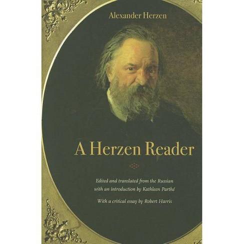 A Herzen Reader - by  Alexander Herzen (Paperback) - image 1 of 1