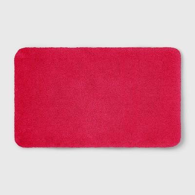 20 x34  Soft Nylon Solid Bath Rug Hot Pink - Opalhouse™