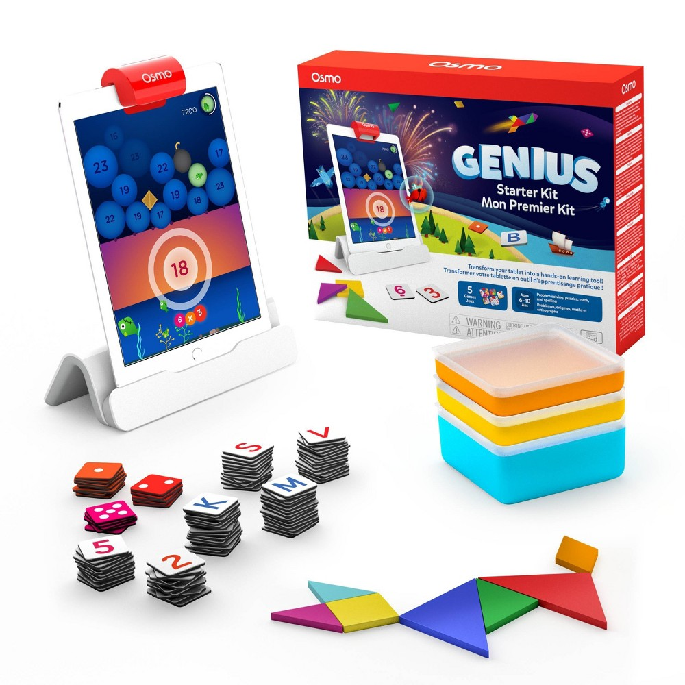 Osmo Genius Starter Kit for iPad Now $46.66 (Was $99.99)