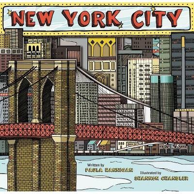 New York City - by  Paula Hannigan (Mixed Media Product)