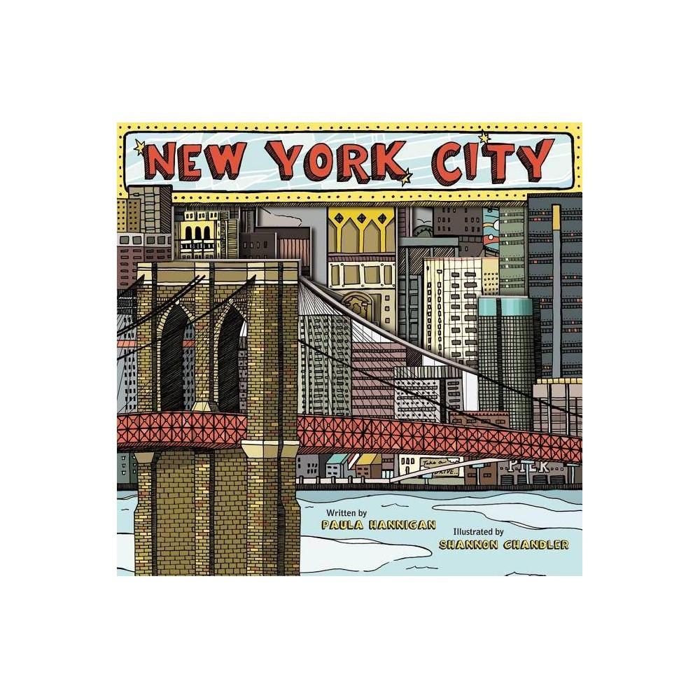 New York City By Paula Hannigan Mixed Media Product