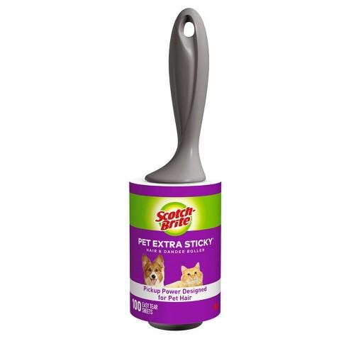 Scotch-Brite Pet Extra Sticky Lint Roller - 100 Sheet - image 1 of 4