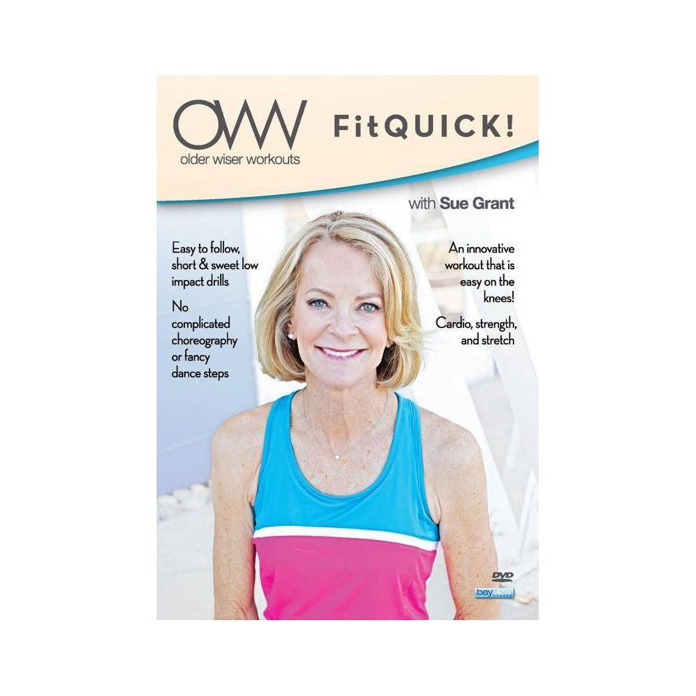 Older Wiser Workouts: Fitquick with Sue Grant (DVD) Buy