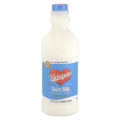 Kleinpeter Skim Milk - 1qt