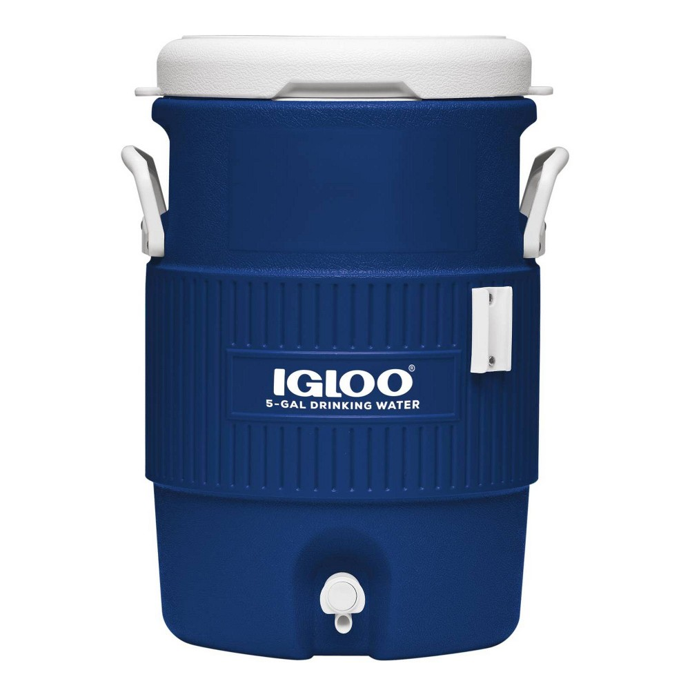 Image of Igloo 5 Gallon Beverage Cooler, Blue