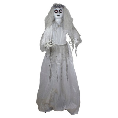Northlight 6' Lighted and Animated Ghost Bride Halloween Decoration