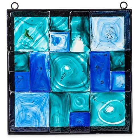 VivaTerra Framed Recycled Glass Block Art - image 1 of 1