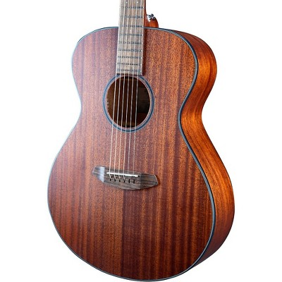 Breedlove Discovery S African Mahogany-African Mahogany Concert Acoustic Guitar Natural