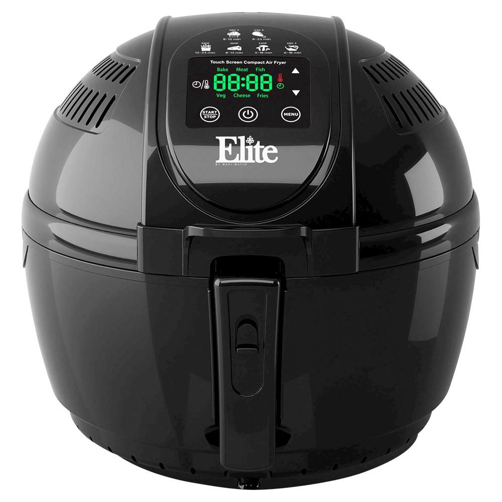 Elite Platinum 3.5qt Digital Air Fryer in Black 49122925