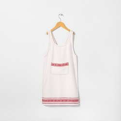 Apron Red Embroidered - Hearth & Hand™ with Magnolia