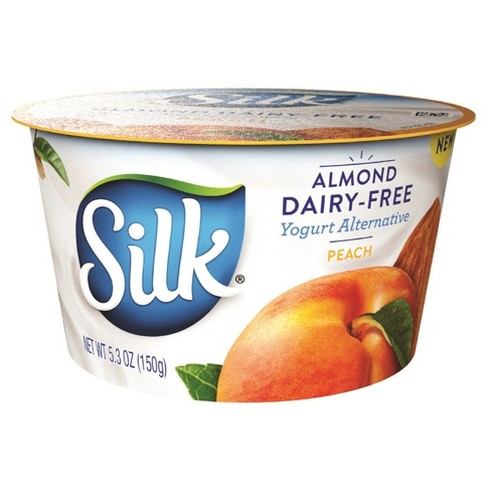 Silk Peach Flavored Almond Dairy Free Yogurt - 5.3oz - image 1 of 1
