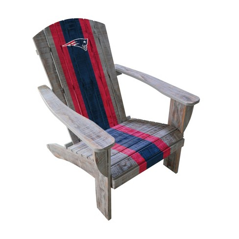 NFL New England Patriots Wooden Adirondack Chair - image 1 of 2