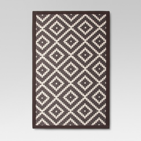 "Radiant Gray Jacquard Rugs 1'8""X2'10"" - Threshold™ - image 1 of 2"