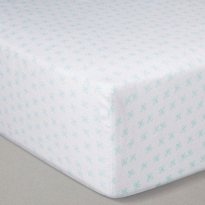 Crib Fitted Sheet - Cloud Island™ Blue