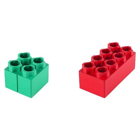 Kids Adventure Jumbo Blocks Beginner Set - 24 Piece image number null