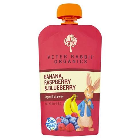 Peter Rabbit Organics Banana, Raspberry & Blueberry - 4oz - image 1 of 2