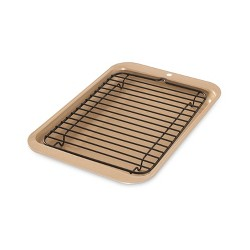 Nordic Ware 2 Piece Half Sheet With Oven-Safe Grid : Target