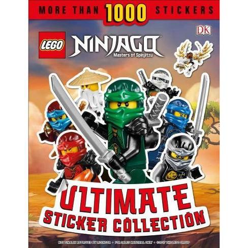 Lego Ninjago Masters of Spinjitzu : Ultimate Sticker Collection - (Paperback) - by Joseph Stewart & Julia March - image 1 of 1