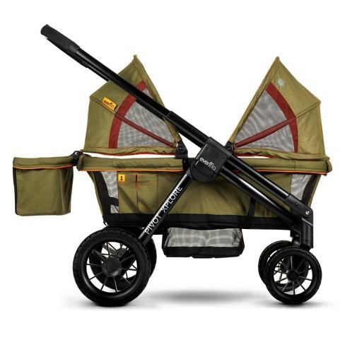 Evenflo Pivot Xplore All-Terrain Double Stroller Wagon - Gypsy - image 1 of 4