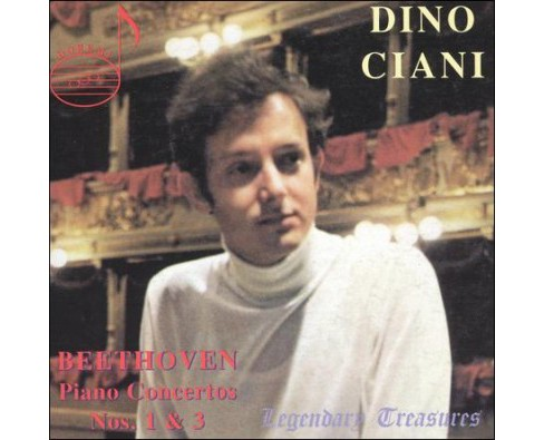 Dinu Ciani - Ciani Plays Beethoven Ctos 1 & 3 (CD) - image 1 of 1