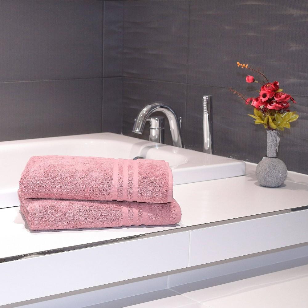 2pk Denzi Turkish Bath Towel Tea Linum Home Textiles
