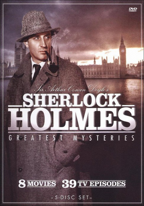 Sherlock Holmes: Greatest Mysteries [5 Discs] - image 1 of 1