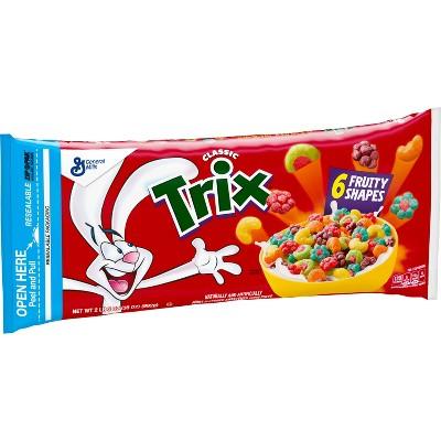 Trix Breakfast Cereal Bag - 35oz